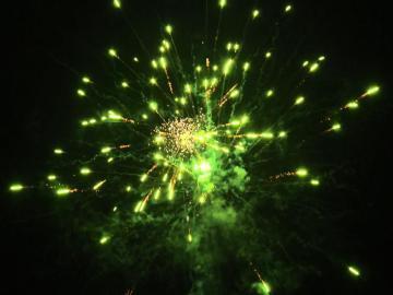 Peony effect discounter vuurwerk