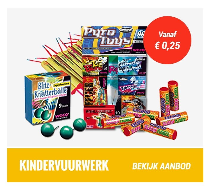 Categorie 1 vuurwerk - Categorie