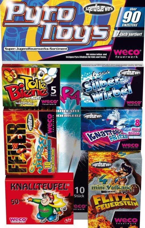 Pyro Toys - categorie 1 pakket