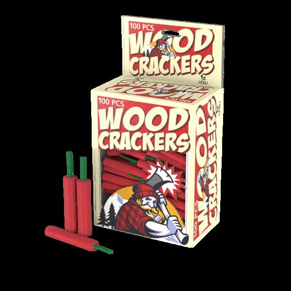 Woodcracker knetterrotje