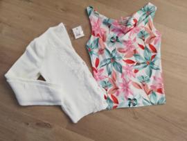 blousetop met exotische print