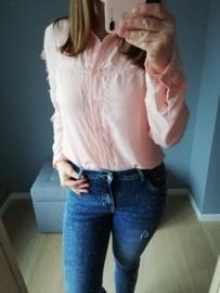 hemd kant roze