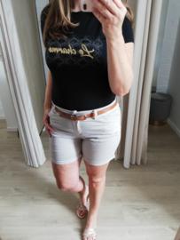 T-shirt le charme zwart