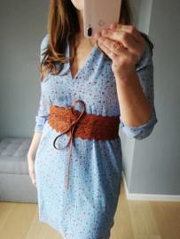 blousejurk lichtblauw