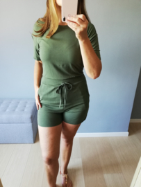playsuit relaxed fit kaki