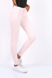 skinny push up Toxik roze