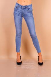 Toxik medium taille jeansblauw L20016-3