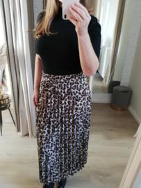 maxi-rok luipaardprint