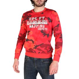 Napapijri men's Sweatshirt red