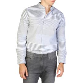 Armani Exchange men's Long Sleeves shirt grey