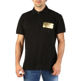 Versace Jeans men's polo shirt black
