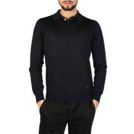 Emporio Armani men's polo shirt blue
