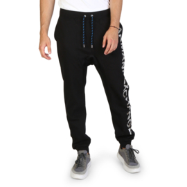 Armani Exchange men's tracksuit pants black