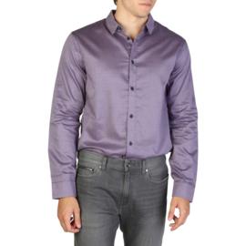 Armani Exchange men's Long Sleeves shirt blue