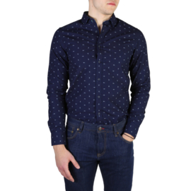 Tommy Hilfiger men's Long Sleeves shirt blue