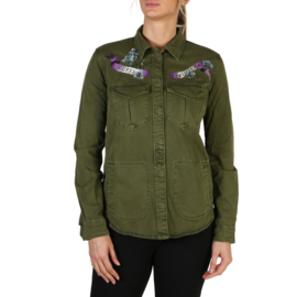 Guess women's jacket green