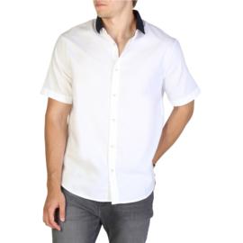 Armani Exchange men's Short Sleeves shirt white
