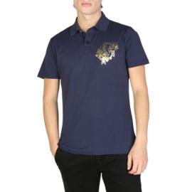 Versace Jeans men's polo shirt blue