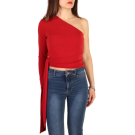 Guess woman top red