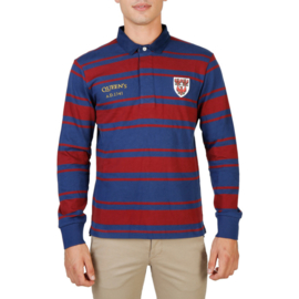 Oxford University men's Long Sleeves polo shirt