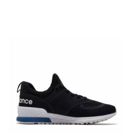 New Balance men's sneakers black