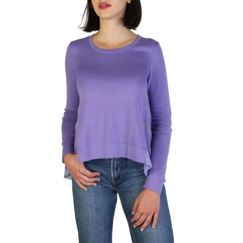 Armani Jeans women's Sweater violet