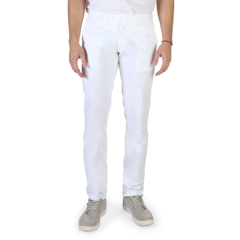 Armani Jeans men's trouser white