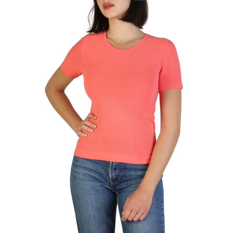 Armani Jeans women's T-shirt red