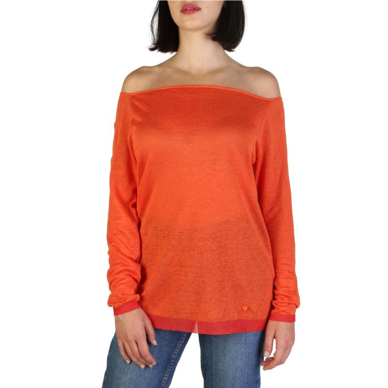 Armani Jeans women's Sweater orange
