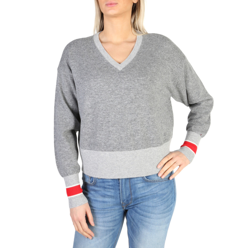 Tommy Hilfiger women's sweater grey