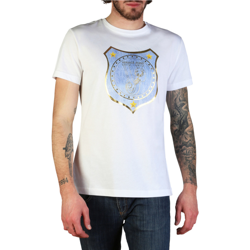 Versace Jeans men's T-shirt white