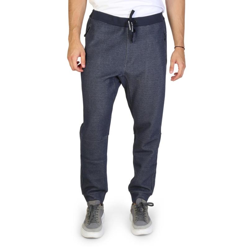 Armani Exchange men's tracksuit pants blue