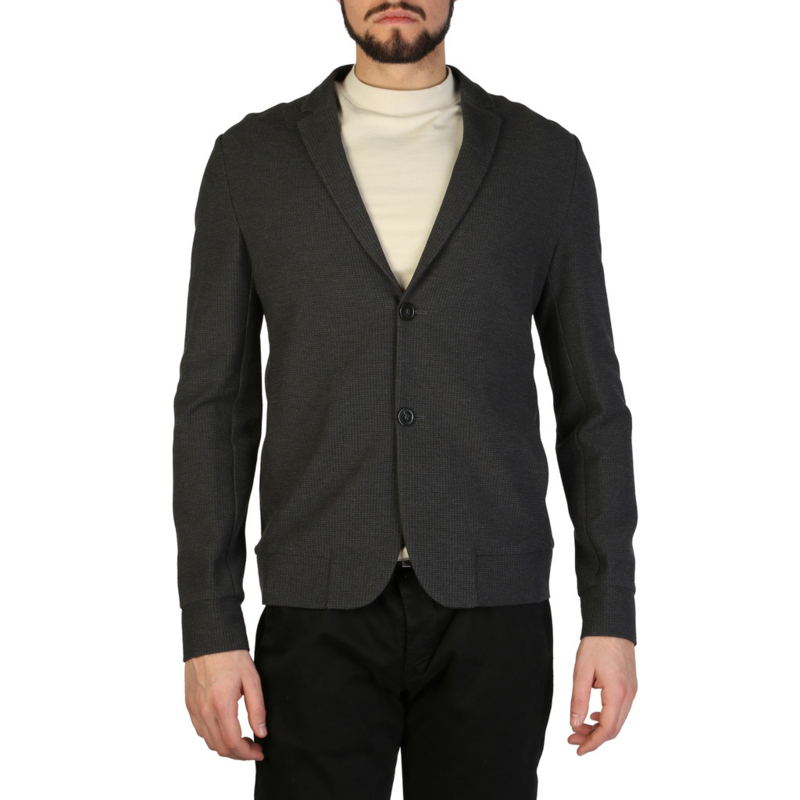 Emporio Armani men's formal jacket grey