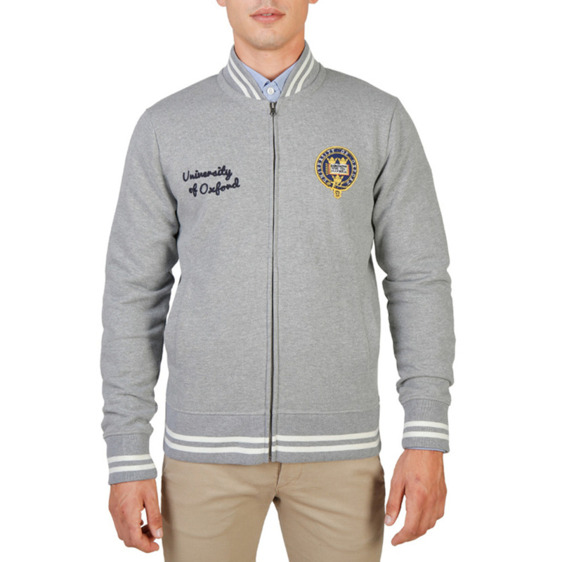 Oxford University men's Sweatshirt grey