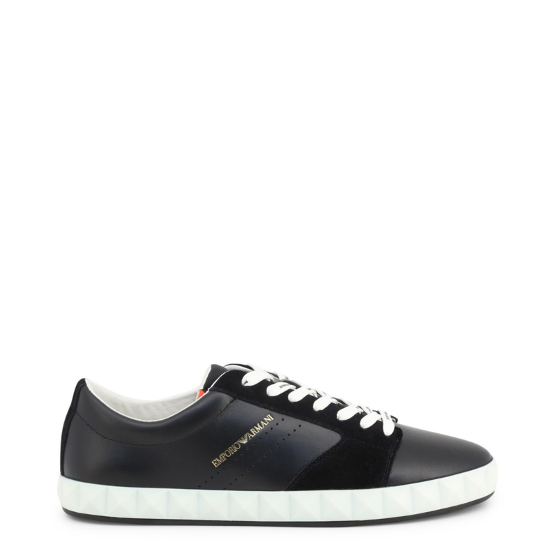 Emporio Armani men's sneakers black