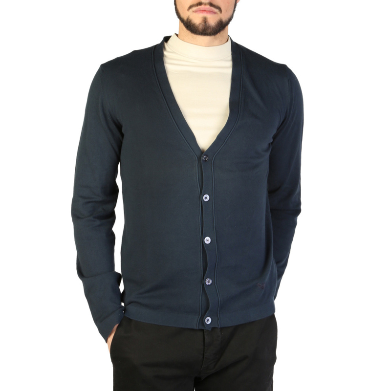 Emporio Armani men's Sweater blue