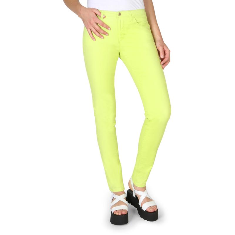 Armani Jeans women's trouers green