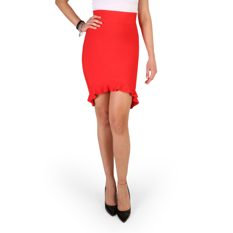 Guess woman's skirt red