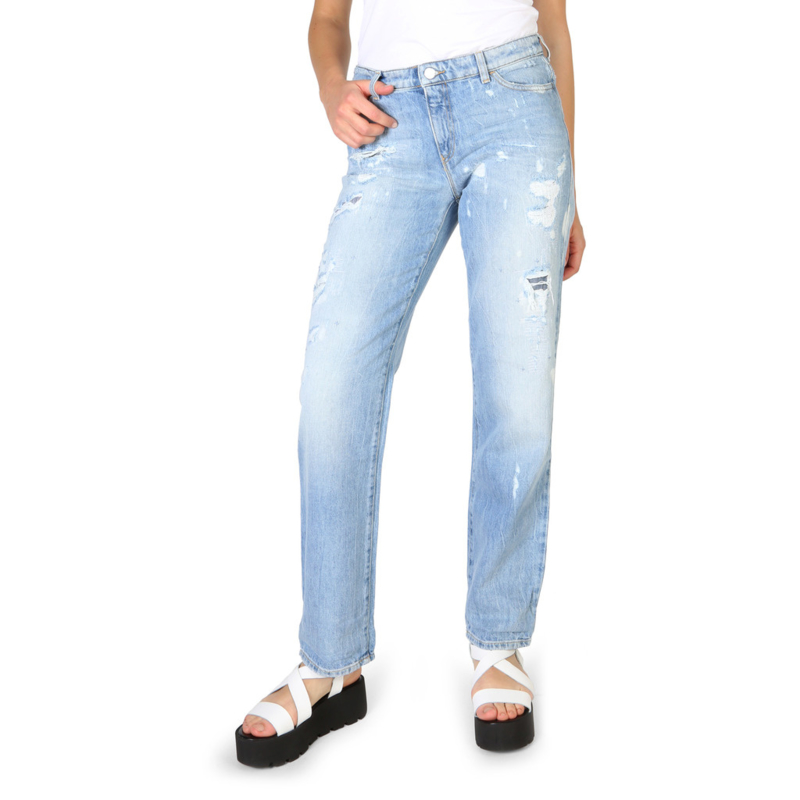 Armani Jeans women's jeans blue