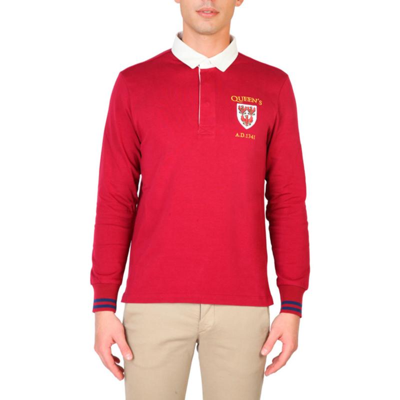 Oxford University men's Long Sleeves polo shirt
