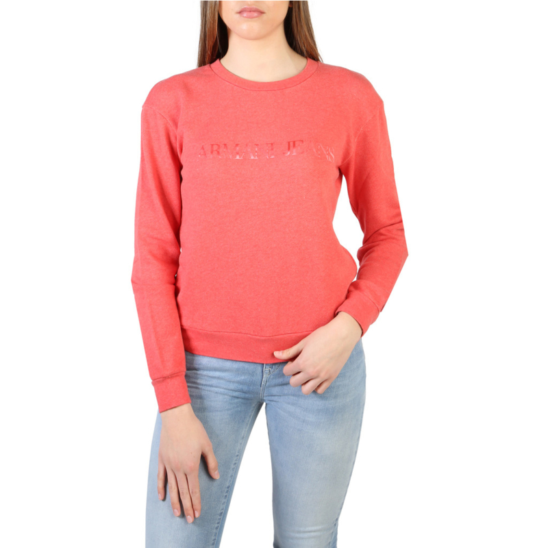 Armani Jeans women's sweatshirt red