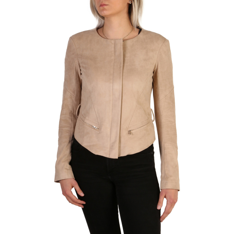Guess women's formal jacket brown