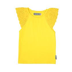 Vinrose T-shirt geel