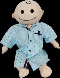 Kids en Cool overhemd aqua