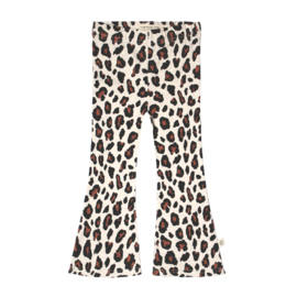 Your Wishes flared legging Leopard