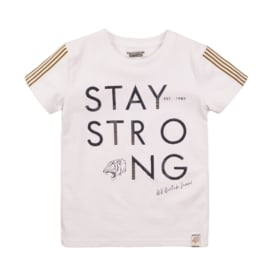 DutchJeans T-shirt Stay strong