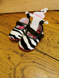 Soft touch ballarina zebraprint