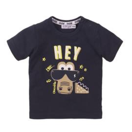 Dirkje T-shirt Hey navy