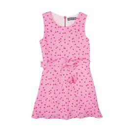Vinrose jurk met kersen