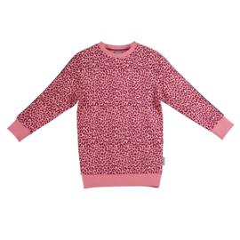 Vinrose jurk panter roze